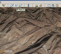 Google Earth地球卫星地图规划路径导入GPS