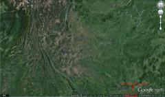 如何下载谷歌地球高程并导出等高线为DXF文件