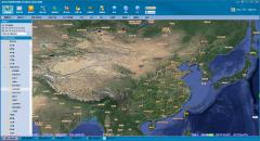 万能地图下载器如何下载卫星影像和等高线叠加?
